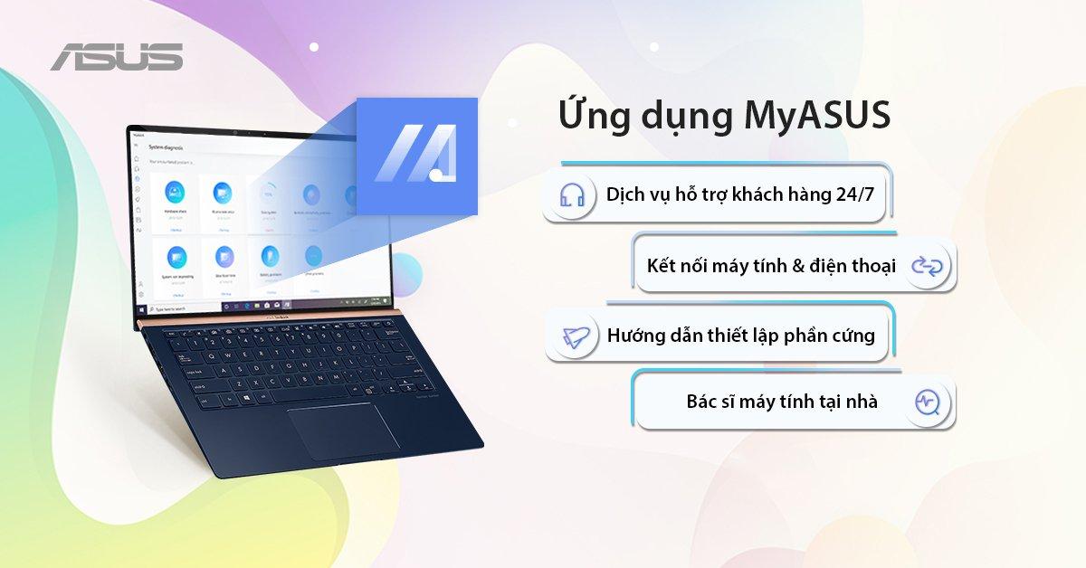 MyASUS - Ứng dụng hỗ trợ toàn diện dành cho người dùng ASUS